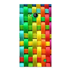 Ajay Enterprises Wow world of colour Back Case Cover for Lumia 730
