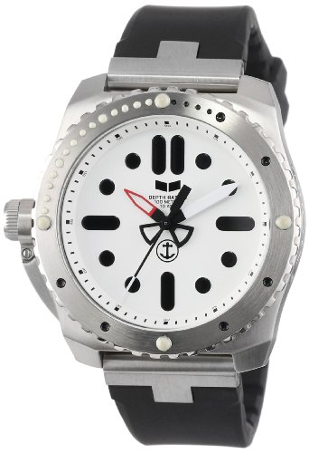 Vestal Men's RED3S01 Restrictor Diver 43 Silver White Watch