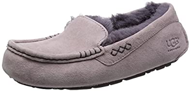 UGG Women's Ansley Feather/Locomotive Grey Slipper 5 B (M)