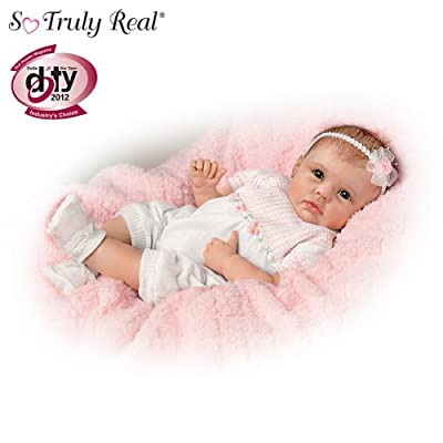 So Truly Real Touch-Activated Lifelike Baby Doll by The Ashton-Drake Galleries from The Ashton-Drake Galleries