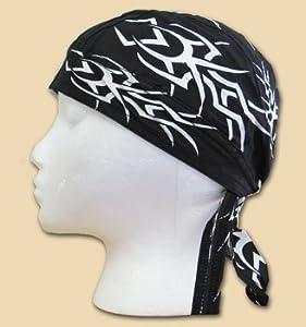 Tribal in Black - Novelty Ezdanna Headwrap