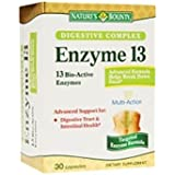 Nature's Bounty Enzyme 13, Disgestive Support, 30 Count