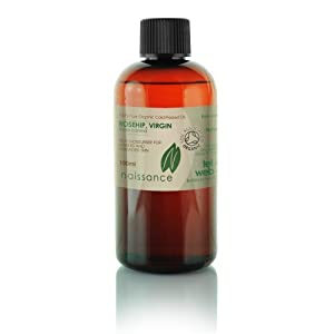 100ml Organic Rosehip Virgin Oil - 100% Pure Cold Pressed Carrier Oil