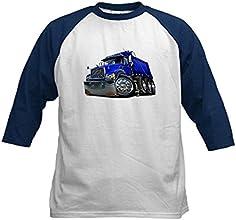 CafePress Kids Baseball Jersey - Mack Dump Truck Blue Kids Baseball Jersey