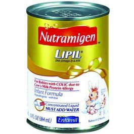 Nutramigen® Lipil® Infant Formula-Flavor Unflavored Calories 520 / 13 Fl Oz Style Concentrated Liquid Packaging 13 Fl Oz Can - Case Of 12