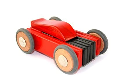 Tegu Dart 15 Piece Magnetic Wooden Block Car Available for Sale