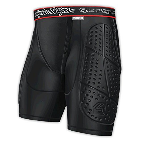 Troy Lee Designs Protection Shorts 3600, Black, Small (Troy Built Models compare prices)