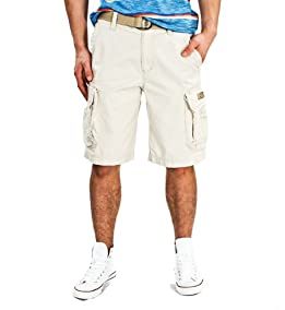 Survivor Cargo Shorts-Stone