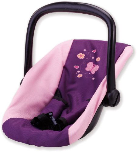 Bayer Design Car Seat for Dolls Upto 46cm (Plum)