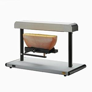 ttm zinal appareil raclette zinal pour 1 2 meule de fromage rond ou carr cuisine. Black Bedroom Furniture Sets. Home Design Ideas