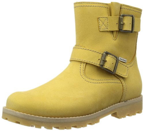 Froddo Unisex - Child Froddo G3160007-1 Biker Boots Yellow Gelb (Yellow) Size: 32