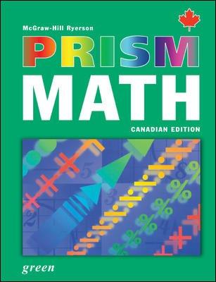 PRISM Math Green Student Workbook