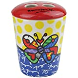 Romero Britto Butterfly Toothbrush Holder from Westland Giftware