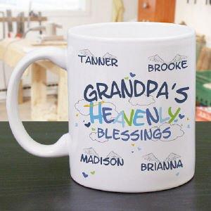 Heavenly Blessings Mug Grandpa Coffee Mug Heavenly