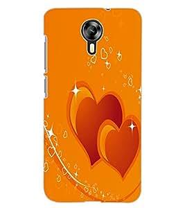 ColourCraft Loving Hearts Design Back Case Cover for MICROMAX CANVAS XPRESS 2 E313