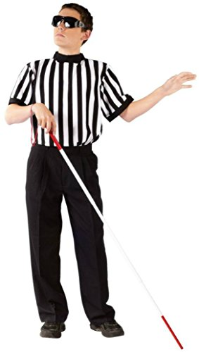 Boys Blind Referee Kids Child Fancy Dress Party Halloween Costume