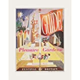 Pleasure Gardens Mounted Print||EVAEX