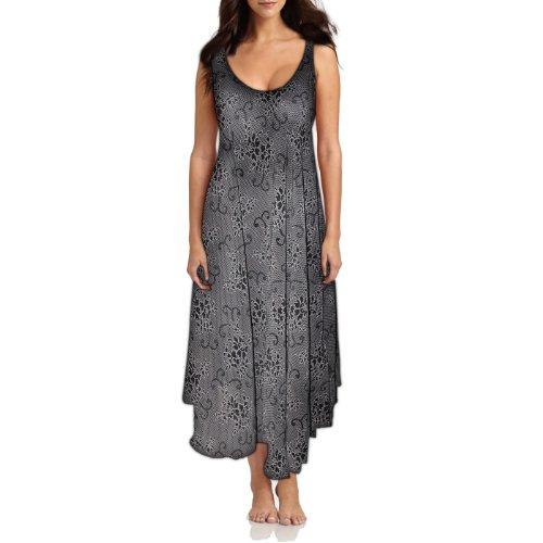Black Georgette Maternity Wear Long Gown for Women