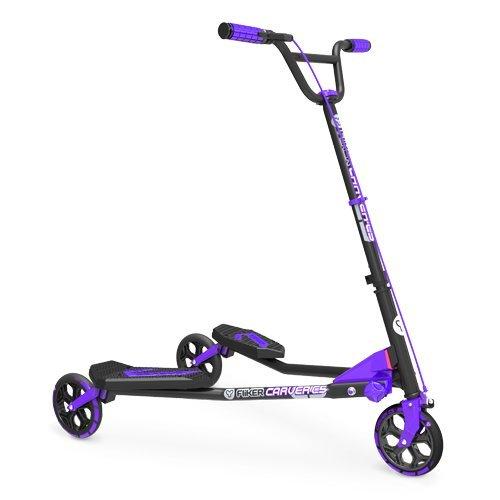 yvolution-y-fliker-c5-kids-drifting-scooter-purple