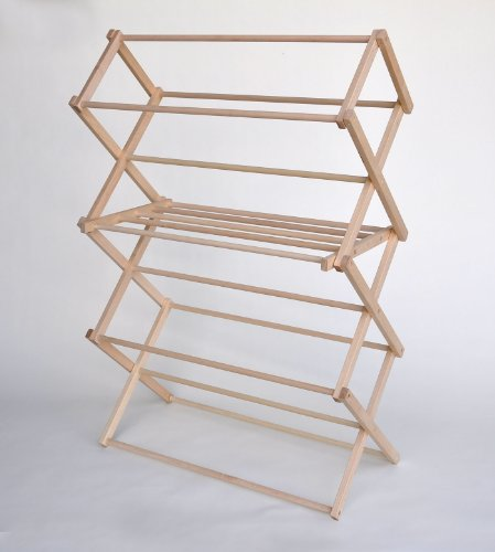 how to build a clothes drying rack