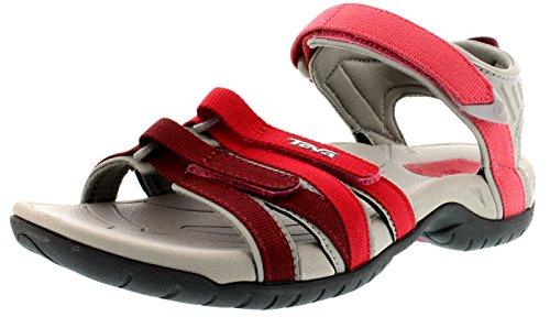 Teva - Tirra W's, sandali sportivi da donna, rosso(rot (617 red gradient)), 39