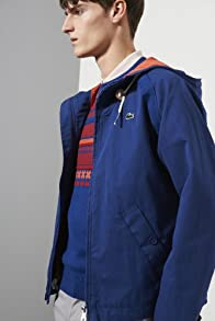 Live Cotton Canvas Hooded Jacket