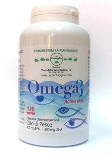 OMEGA 3 Activ Plus 120 perle CONCENTRATO