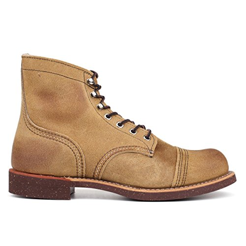 Red Wing Iron Ranger 8113 Sand Mens Boots Size 10 Us