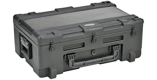SKB 3R2817-10B-EW Roto-Molded 28 x 17 x 10 Inches Waterproof Case with TSA Latches and Wheels