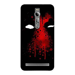 Gorgeous Horror Red Back Case Cover for Asus Zenfone 2