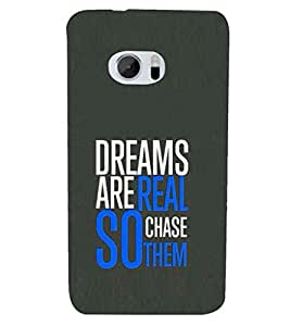 PRINTSHOPPII QUOTES Back Case Cover for HTC One M10