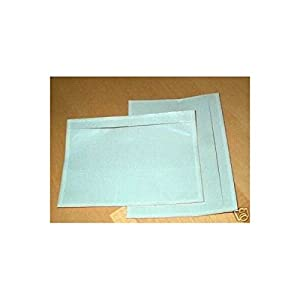 """7.5"""" x 5.5"""" Clear Adhesive Top Loading Packing List / Shipping Label Envelopes Pouches (100 pk)"""