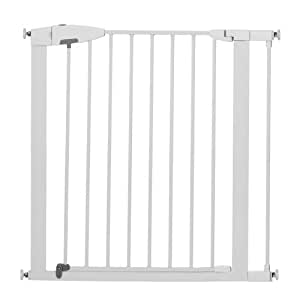 Munchkin Easy Close Metal Safety Gate, White