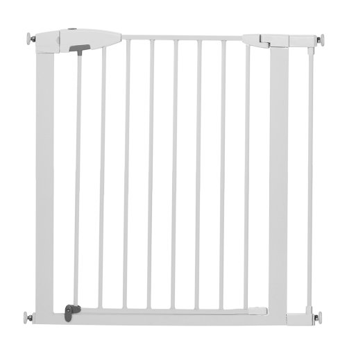 Munchkin Easy-Close Metal Safety Gate, White front-479642