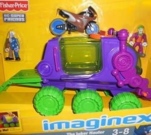 Amazon.com: Imaginext DC Super Friends The Joker Hauler: Toys & Games
