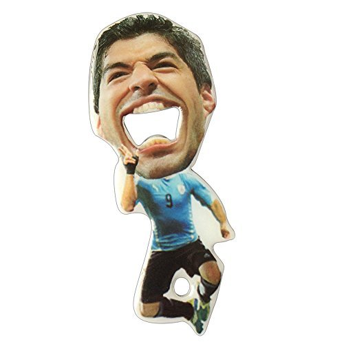 Osko® 2014 Brazil World Cup Opener,the Luis Alberto Suarez Opener,made of Stainless Steel,vivid