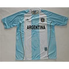 Buy Argentina National Team Soccer Jersey Size Mens Large