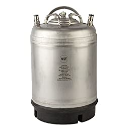 2.5 Gallon Amcyl Keg New Ball Lock Single Handle
