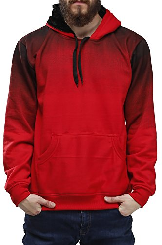 Beat the cold this winter in style and comfort with this eye catching cotton hoodie by High Hill. Below are its features:-  . Cotton made, which makes it more comfortable to be worn.  . Good stitching.  . Colour quality is good and doesn't fade away with repeated washings.  . Fits perfectly and is catered towards the average Indian male build.  . Comes in bright eye catching colour.  This product would be really helpful to those who go for early morning jogs, rides bikes or works out in an air conditioned environment. Its light weight and cotton make would ensure it doesn't make you feel uncomfortable during your training.