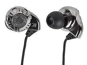 Monoprice 108320 In-Ear Enhanced Bass Hi-Fi Noise Isolating Earphones - Silver