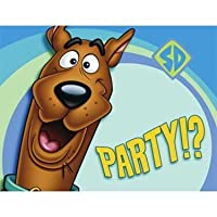 Scooby Doo Party Invitations 8 Pack from Party Express
