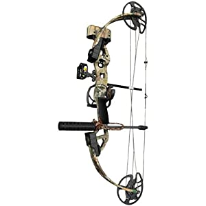 Bear Archery Outbreak Ready - to - Hunt Compound Bow Package, RLTR APG, LH 16-30/70