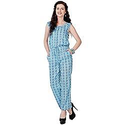 Eavan Women's Casual Wear Lovely Cotton Jumpsuit