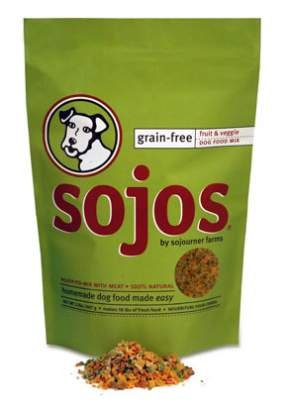 Sojos Grain-Free Fruit & Veggie Dog Food Mix
