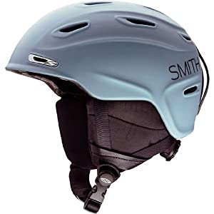 Smith Optics Aspect Adult Ski Snowmobile Helmet , Steel Blockhead , Medium
