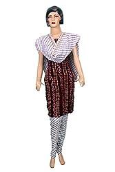 Women's Cotton Unstitched Salwar Suit Dress Material (Dress_708_FreeSize_Multicolor)