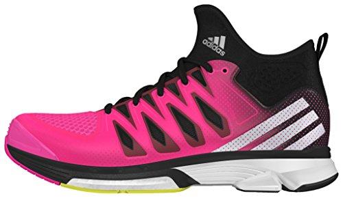 adidas Volley Response Boost 2 Mid W - Scarpe da voleibol da Donna, taglia 40, colore Rosa