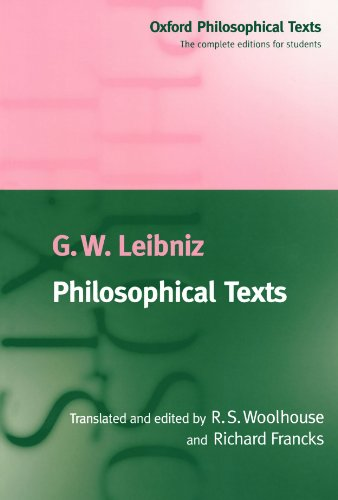Leibniz: Philosophical Texts, ed. Woolhouse & Francks