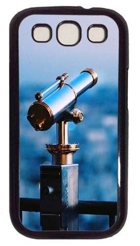 Astronomical Telescope Pc Case Cover For Samsung Galaxy S3 Siii I9300 Black