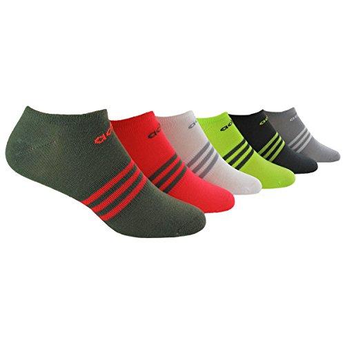 adidas Women's Superlite No Show Socks (Pack of 6) adidas boys climacool x ii low cut socks pack of 2